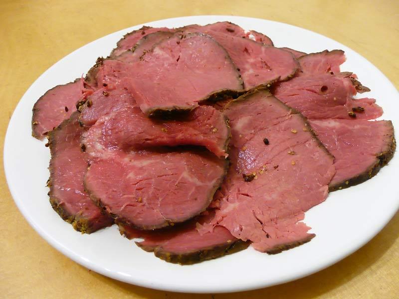 Roastbeef-Aufschnitt