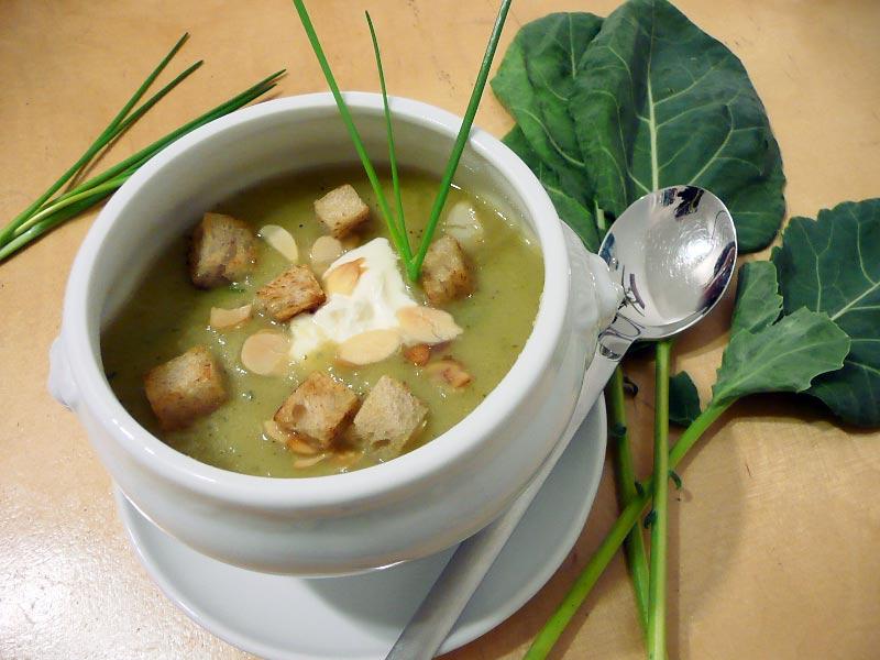 Kohlrabi-Cremesuppe