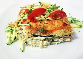 Vegane Rohkost-Lasagne mit Zucchini