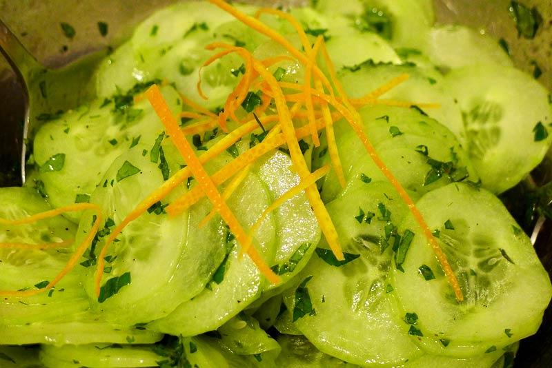 marokkanischer-Gurkensalat
