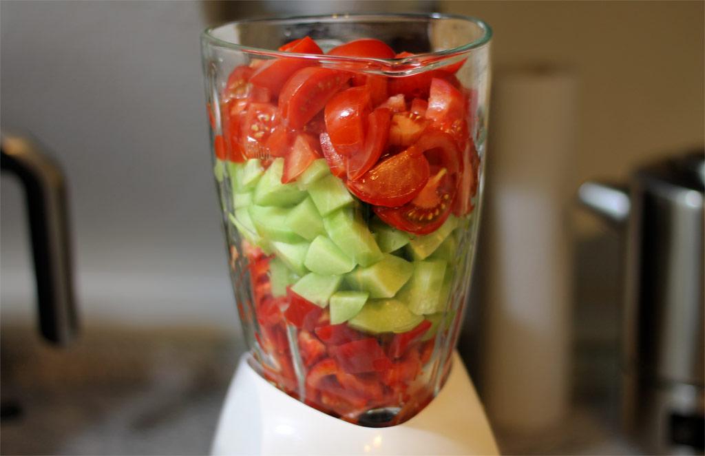 Kühlschrank Für Kalte Räume : gazpacho andaluz kalte spanische gem sesuppe ~ Michelbontemps.com Haus und Dekorationen