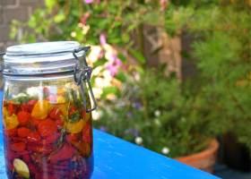 Getrocknete Tomaten – in Öl eingelegt