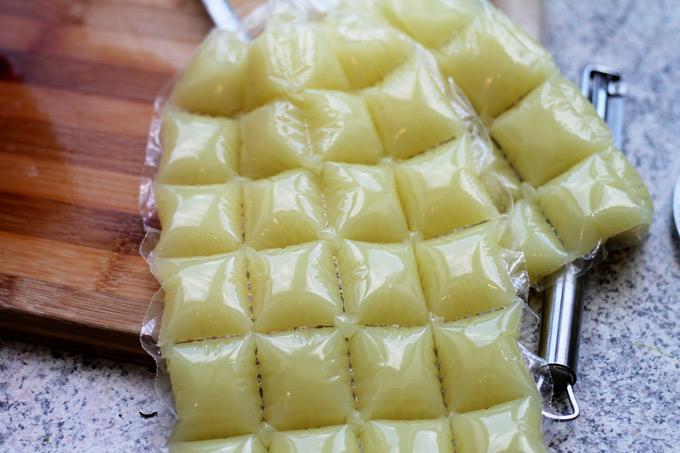 Ingwer-Zitronenlimonade-Gefeirbeutel