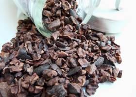 Gesalzene Kakaobohnen