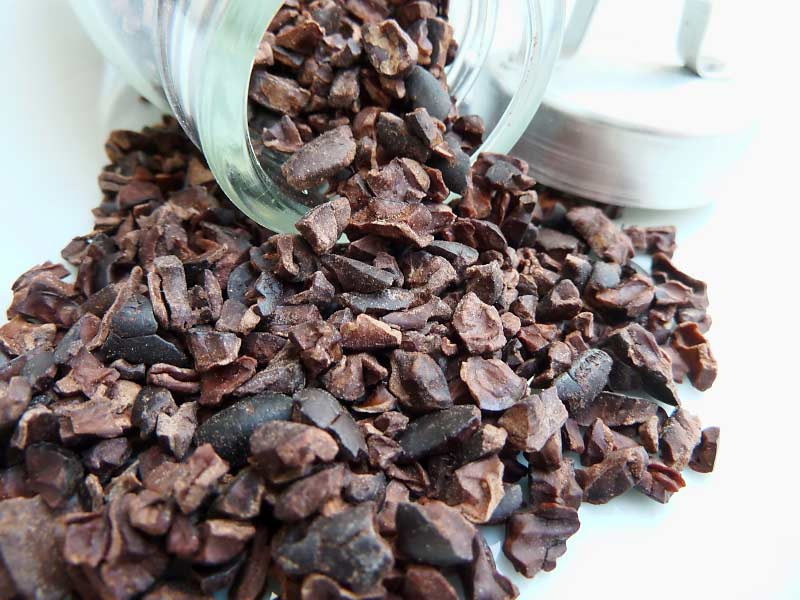 Gesalzene-Kakaobohnen
