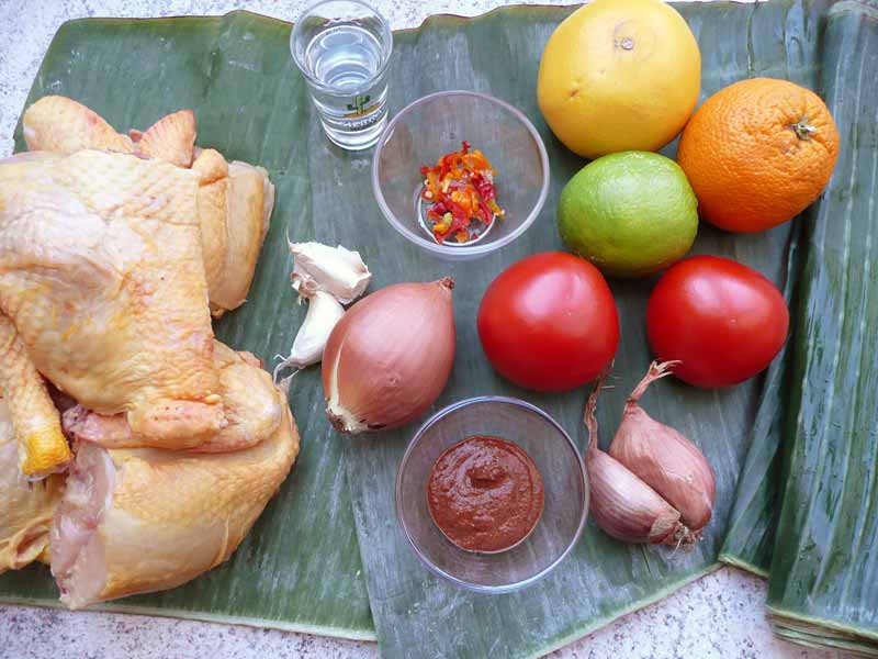 pollo-pibil-zutaten
