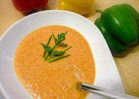 Gazpacho andaluz – kalte spanische Gemüsesuppe