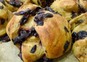 Heidelbeer-Hefegebäck ohne Mehl