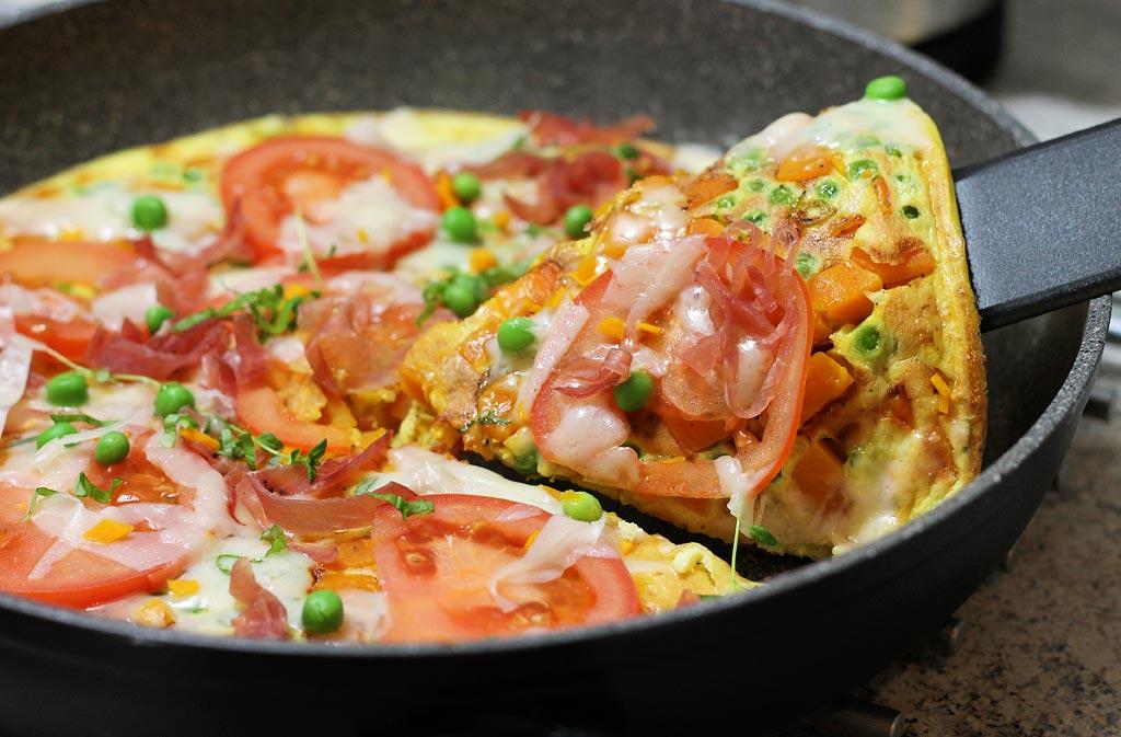 Frittata-mit-Kuerbis-Schinken-und-Kaese